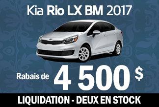 Rio 2017 - Liquidation