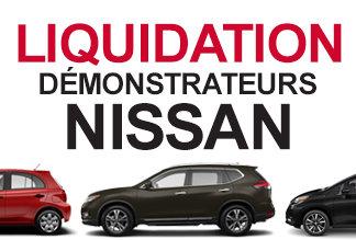 Démonstrateur Nissan à vendre