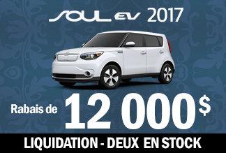 Soul EV luxe 2017 - Liquidation