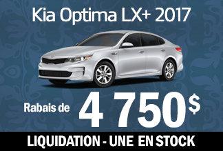 Kia Optima LX+ 2017 - Liquidation