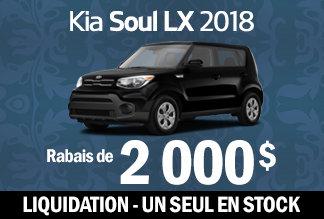 Liquidation Kia Soul
