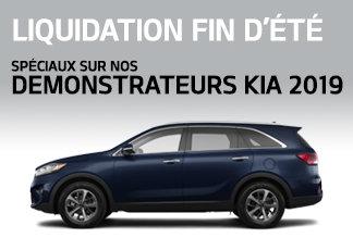 Démonstrateurs Kia 2019 - Promotion