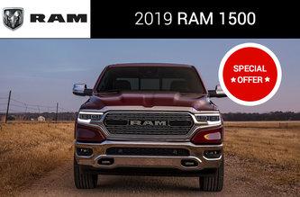 2019 RAM 1500 NIGHT EDITION QUAD CAB