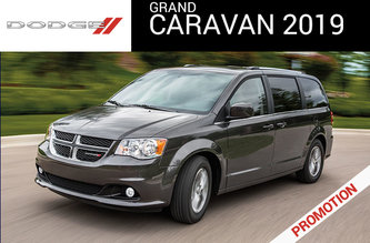DODGE GRAND CARAVAN CANADA VALUE PACKAGE PASSENGER VAN 2019