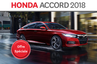 Promotion Accord 2018