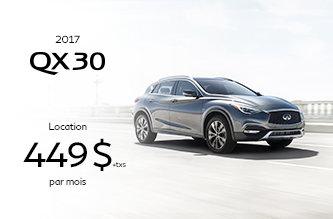 Promotion QX30