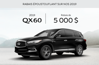 Démonstrateur QX60 2019