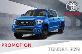 4X4 Tundra SR5 / Platinum 2019