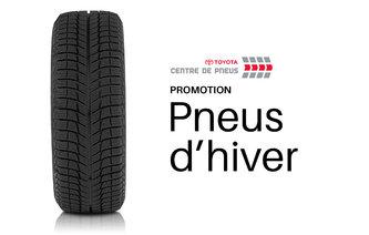 Promotion sur les pneus d'hiver