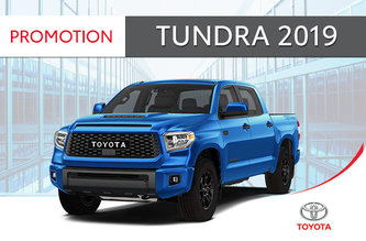 4X4 Tundra SR5 2019