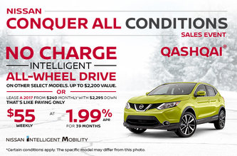 Get the 2017 Nissan Qashqai
