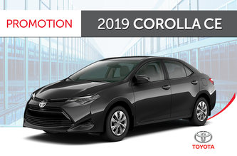 2019 Corolla CE CVT 2019