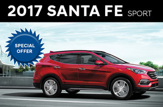 2017 Santa Fe Sport 2.4L premium FWD