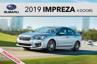 2019 Impreza 4 doors
