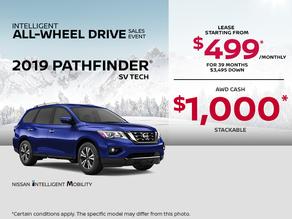 Save on the 2019 Pathfinder!