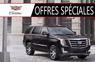 Promotions Cadillac