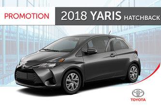 Toyota 2018<br>Yaris Hatchback