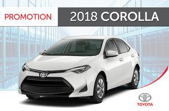 Toyota 2018 Corolla CE 6M