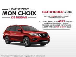 Le nouveau Nissan Pathfinder 2018