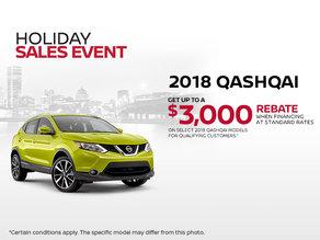 The new 2018 Nissan Qashqai!