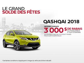Le nouveau Nissan Qashqai 2018