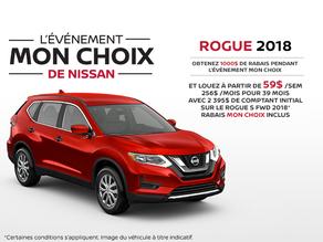 Le nouveau Nissan Rogue 2018