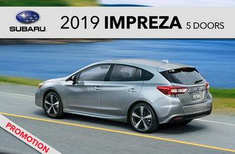 2019 Impreza 5 doors