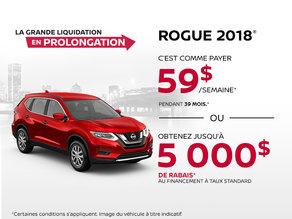Le Nissan Rogue 2018