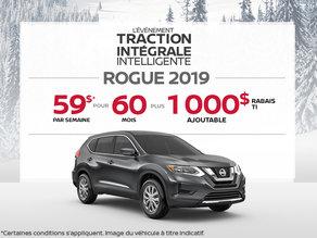 Le Nissan Rogue 2019
