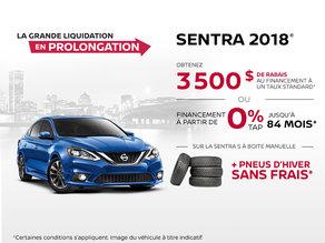 Le Nissan Sentra 2018