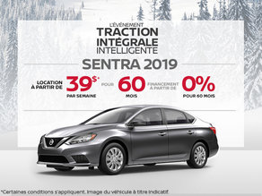 Le Nissan Sentra 2019