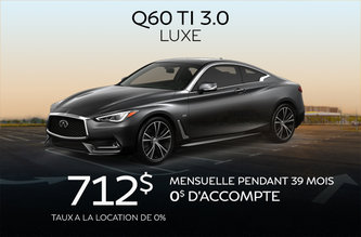Q60 Luxe 2019!