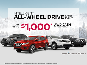 The Intelligent All-Wheel Drive Sales Event!