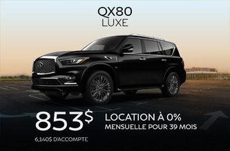 INFINITI QX80 2019!