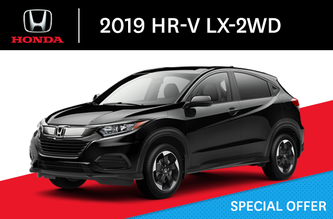 2019 Honda HR-V LX-2WD C-CVT