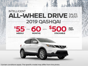 The new 2019 Nissan Qashqai!