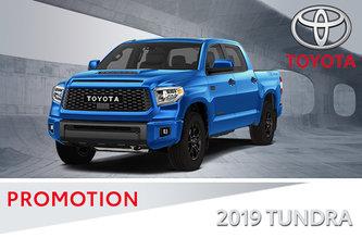 2019 4x4 Tundra SR5/ Platinum