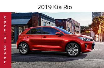 2019 Rio 5-door LX MT