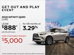 Lease the 2019 INFINITI Qx80!