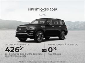 Louez le INFINITI QX80 2019!