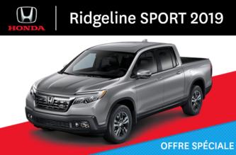 Ridgeline Sport 2019 Automatique