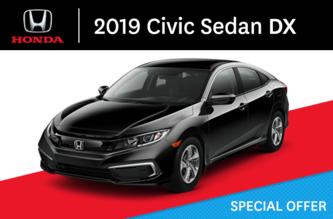 2019 Civic Sedan Manual