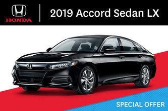 2019 Accord LX Sedan CVT