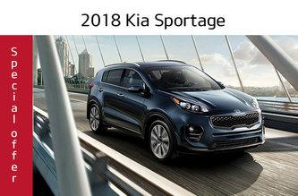 2018 Sportage LX FWD