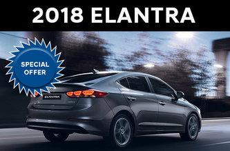 2018 Elantra L Manual
