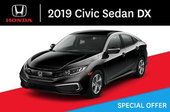 2019 Civic Sedan DX Manual