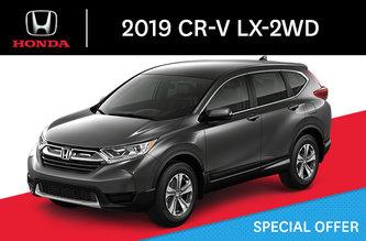 2019 CR-V LX-2WD cvt