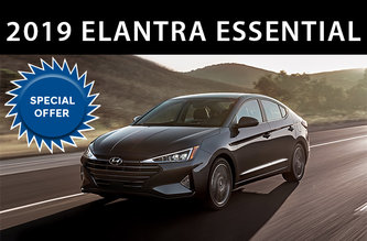 2019 Elantra Essential Manual