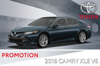 Toyota 2018 Camry XLE V6 Standard Package