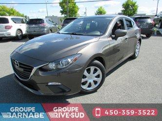 Mazda 3 Sport **GX+AIR CLIMATISÉ+BLUETOOTH+VITRE ELECTRIQUE *** 2015